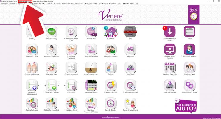 schermata esempio